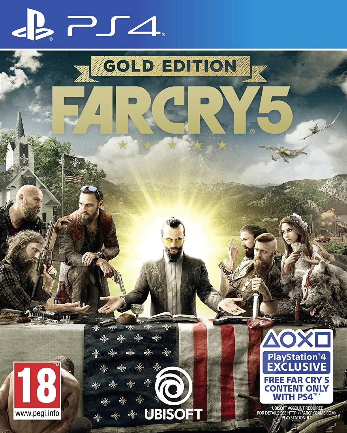 Far Cry 5 Gold Edition Ps4 Exotique