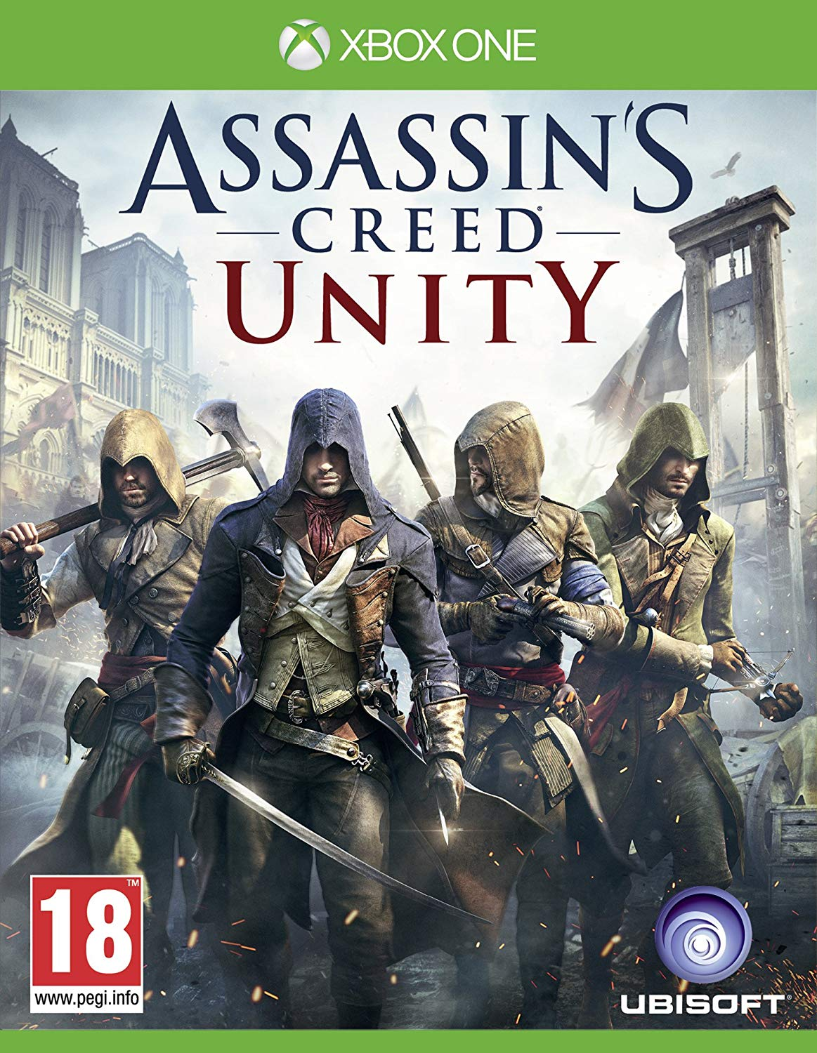 Assassin S Creed Unity Xbox One Exotique