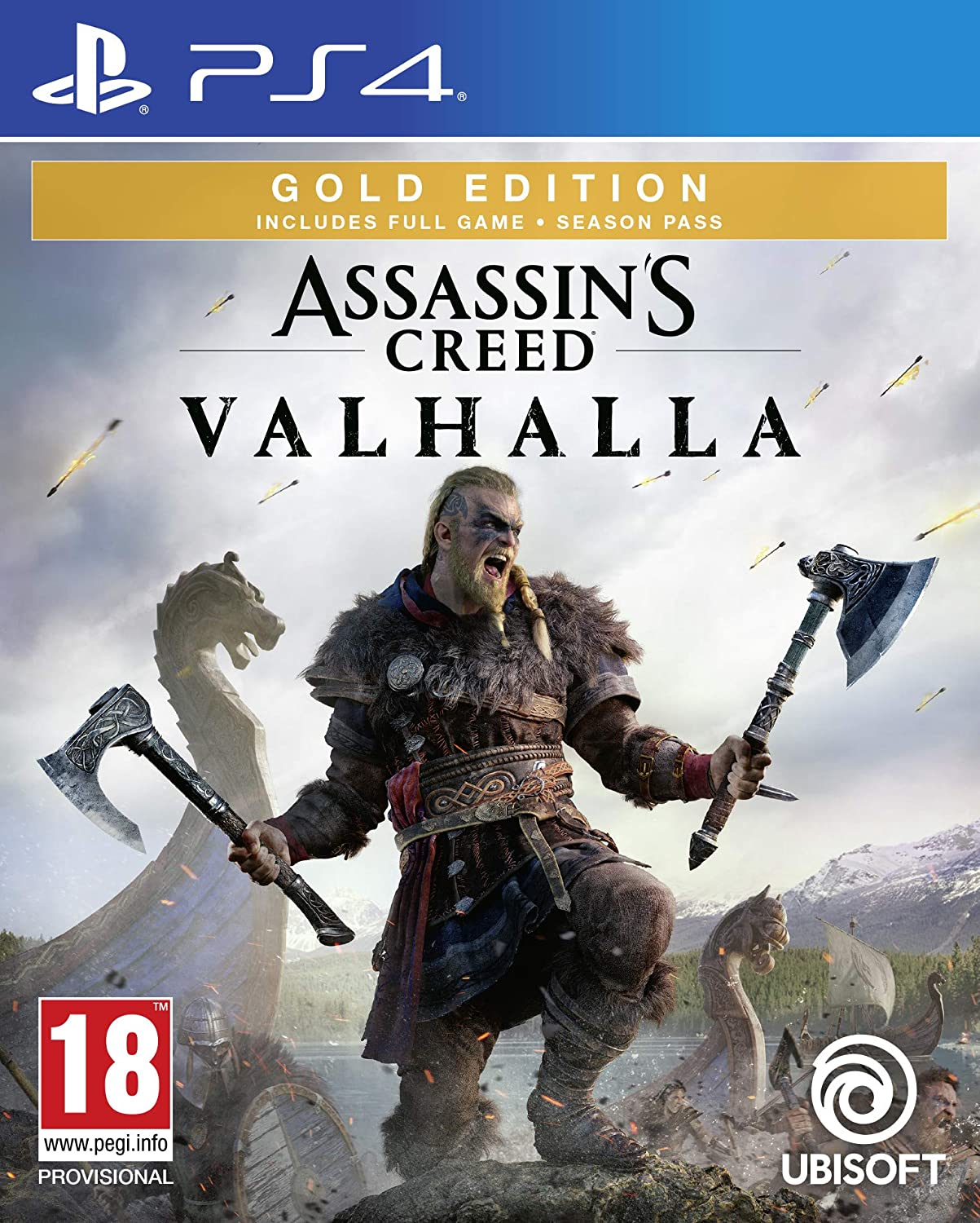 Pre Order Assassin S Creed Valhalla Gold Edition Ps4 Exotique